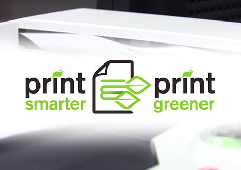 print smarter and print greener