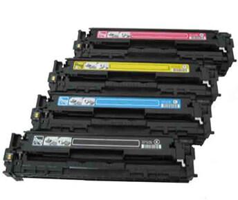 Four color toner cartridges