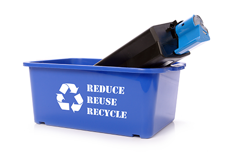 Toner recycling with LaserCycle USA