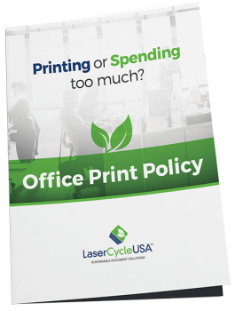 Office Print Policy E-book