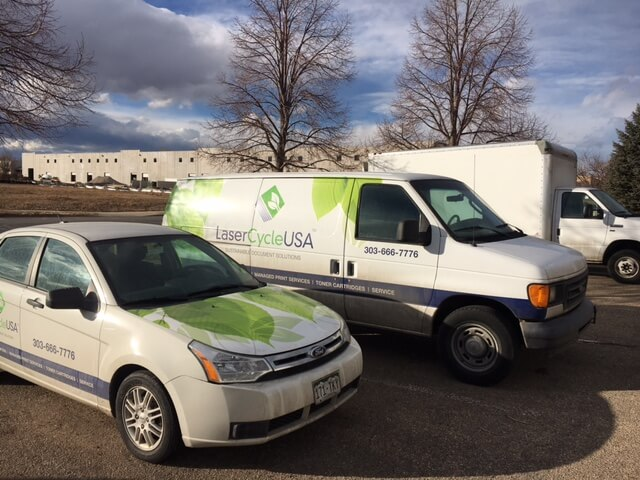 LaserCycle USA Service Vehicles