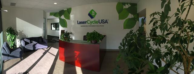 LaserCycle USA Lobby