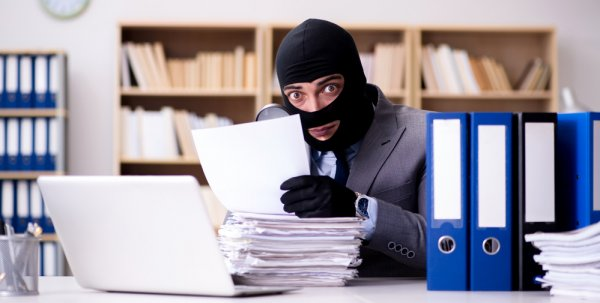 Protect Your Data The Threat Isn't Just High-Tech