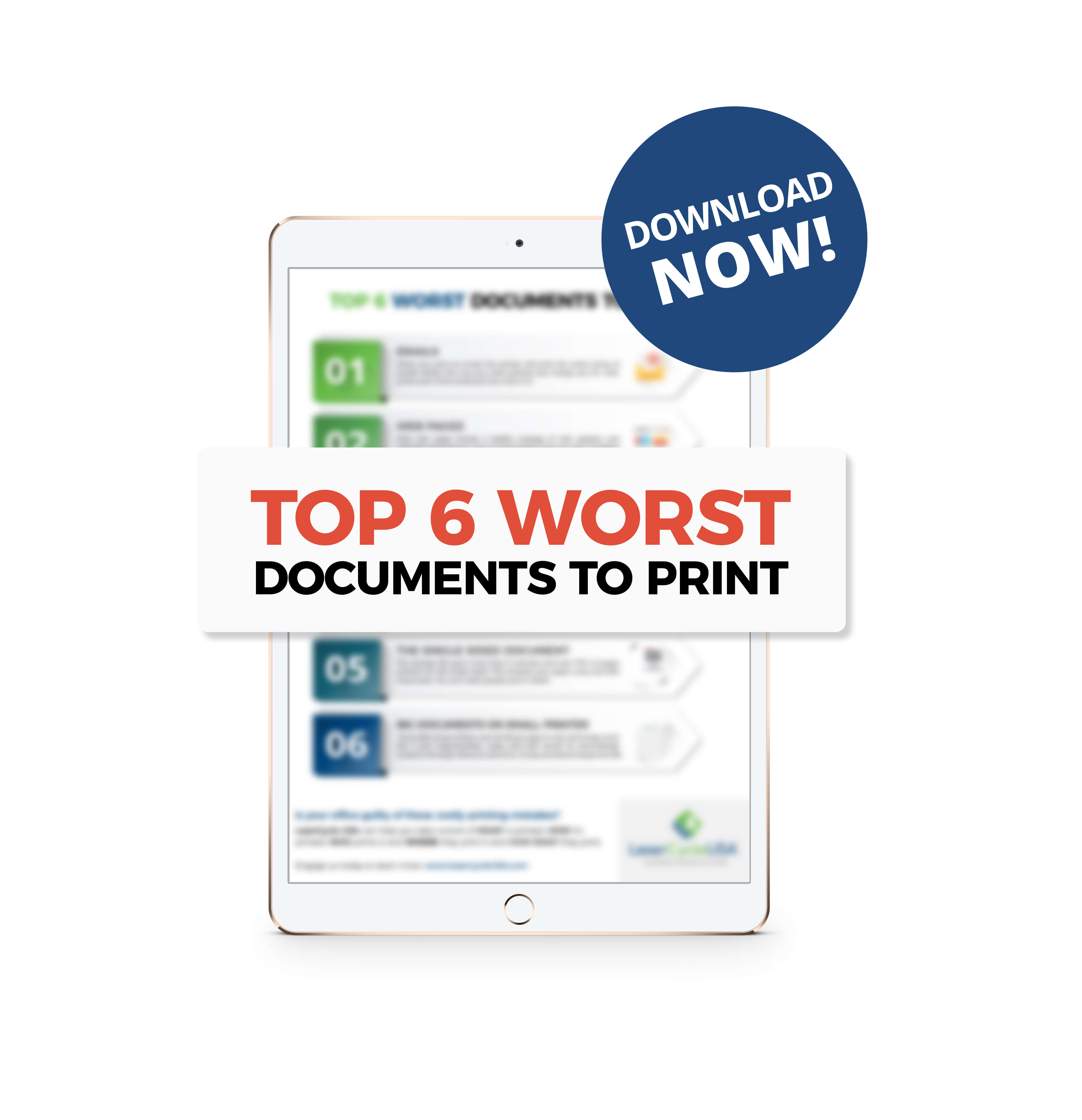 Lasercycle USA - 6 Worst Documents to Print